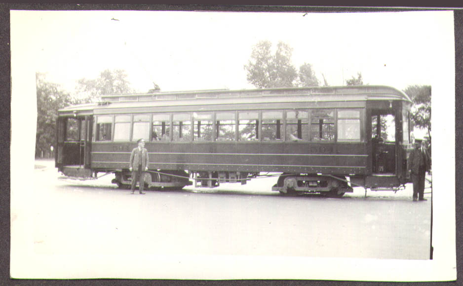 Toledo Community Traction Streetcar #594 photo OH