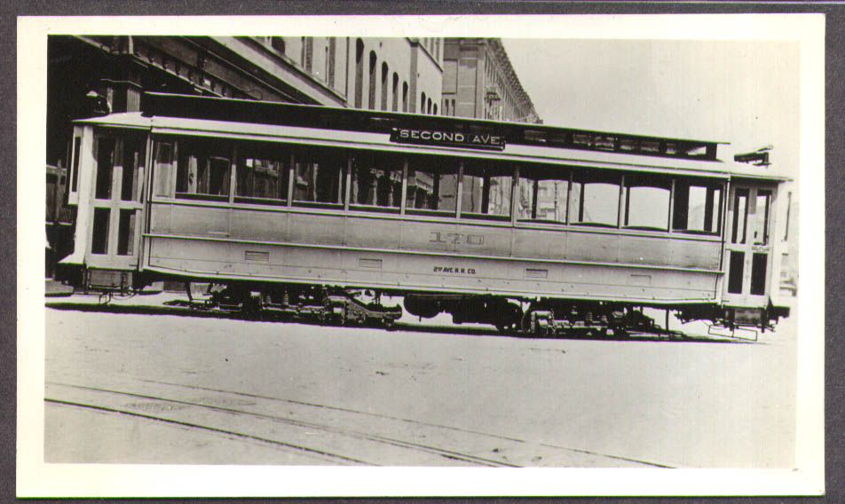 Second Ave RR Streetcar #170 New York City photo