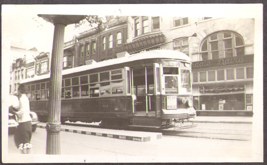 Lehigh Valley Transit Streetcar #912 Allentown PA photo