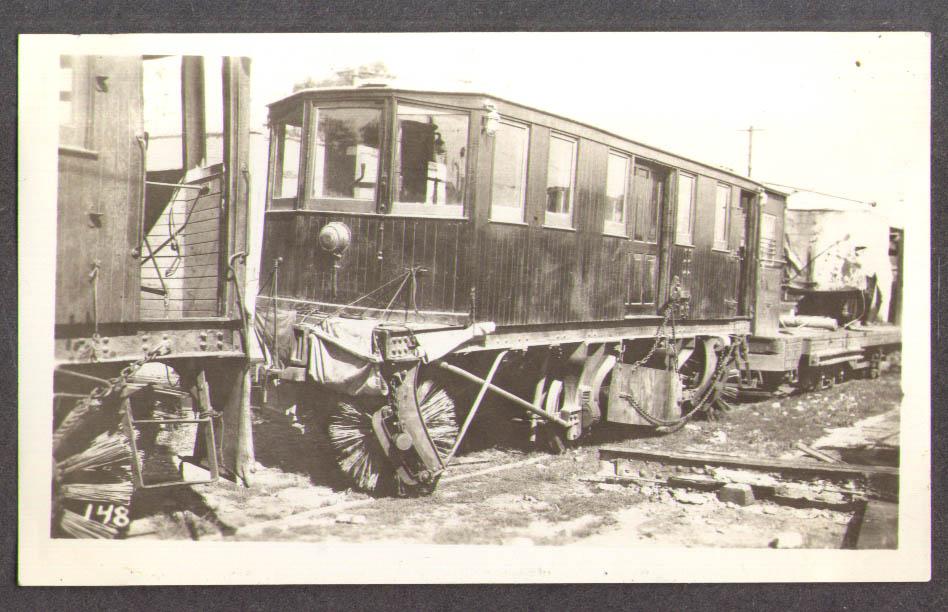 Third Ave Ry Sweeper Streetcar #68 photo NY