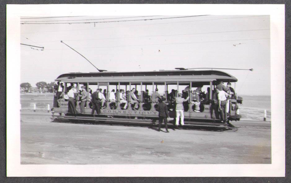 Connecticut Company Streetcar #840 New Haven photo