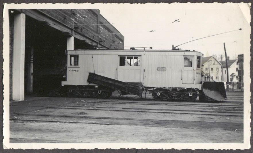 Connecticut Company Streetcar Snowplow #0245 photo