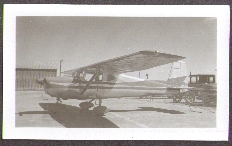1959 Cessna 150 airplane photo N 5694E