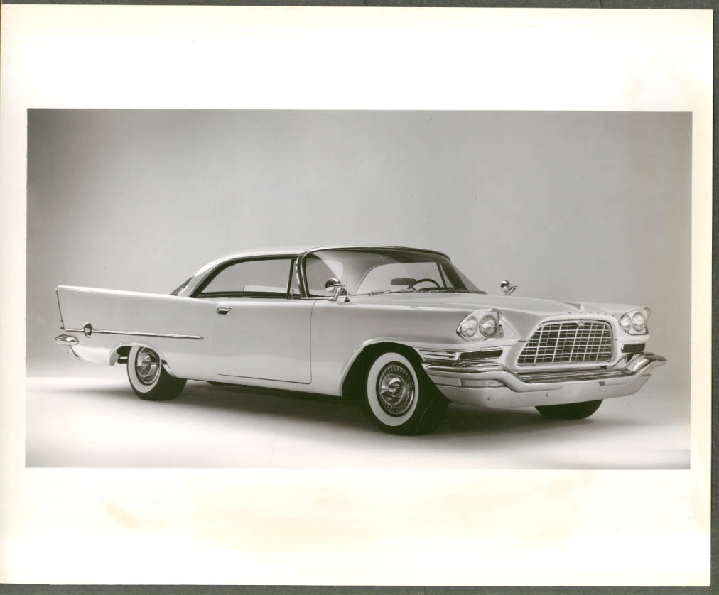 New Chrysler 300D is Top American Sport-Type Car 8x10 photo & caption sheet 1958