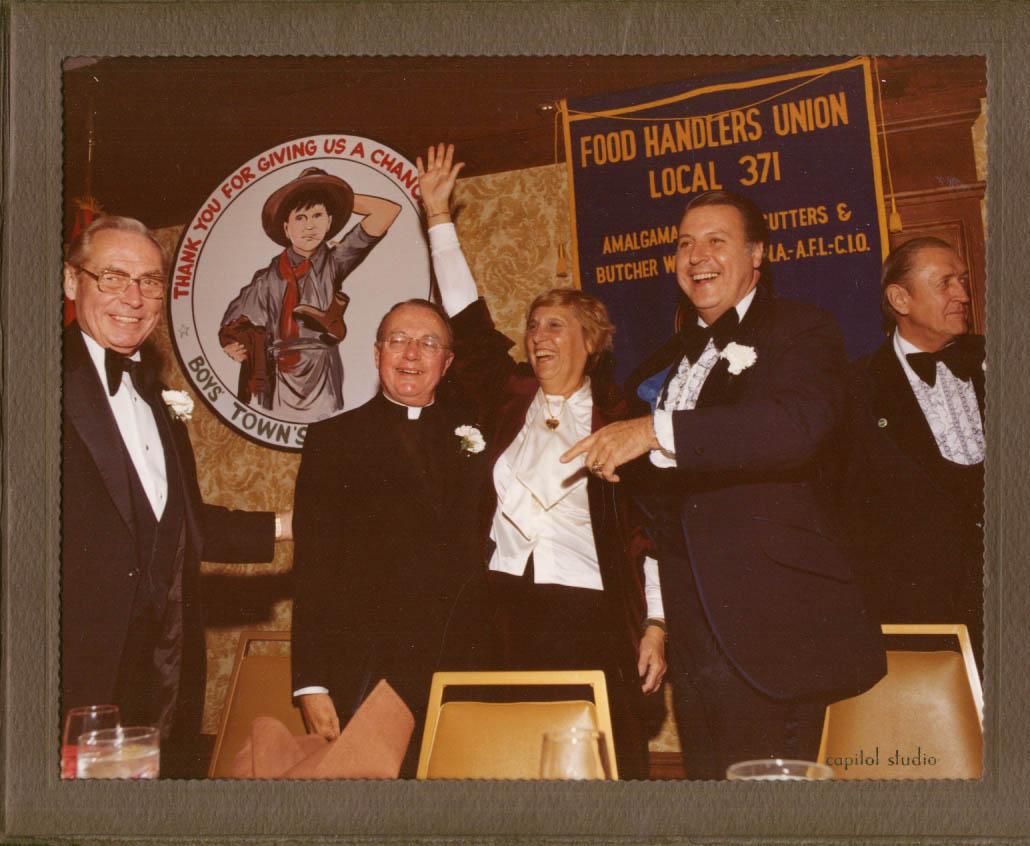 Image for Gov Ella Grasso Boys Town of Italy Petronella Awards Dinner Hartford 1978 8x10 2