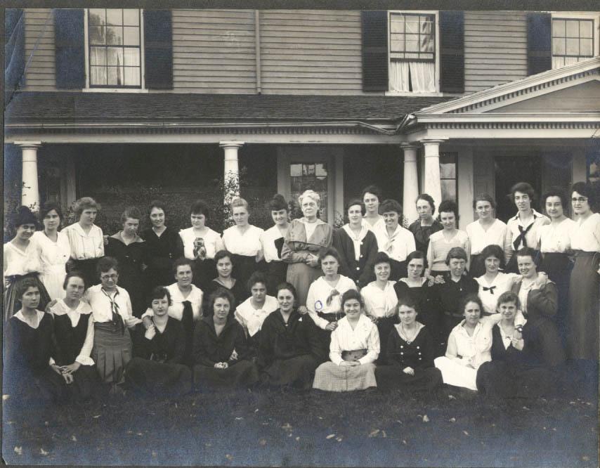 Image for Mount Vernon residents of University of Massachusetts Marie Blackman photo 1930s