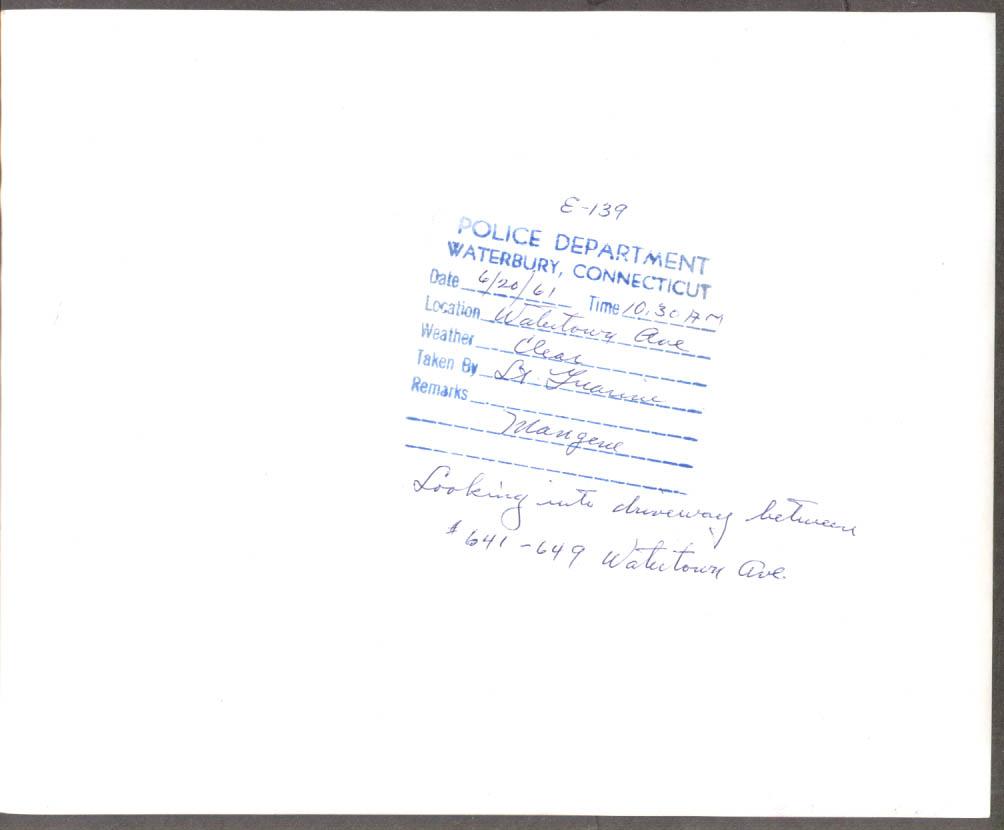 1950 DeSoto GMC semi 641-49 Watertown Av Waterbury CT 1961