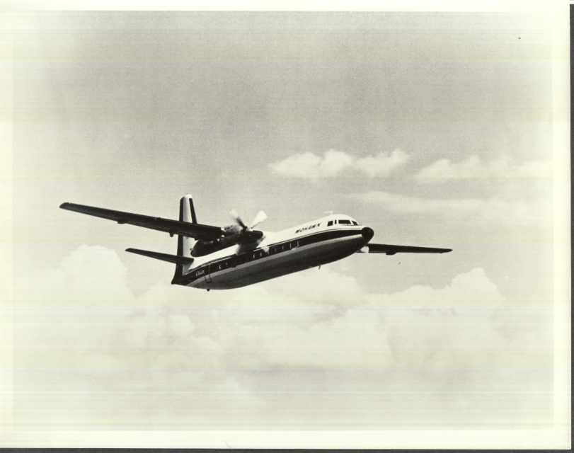 Image for Mohawk Airlines Fairchild Hiller F-27 / FH-227 in flight photo 1968