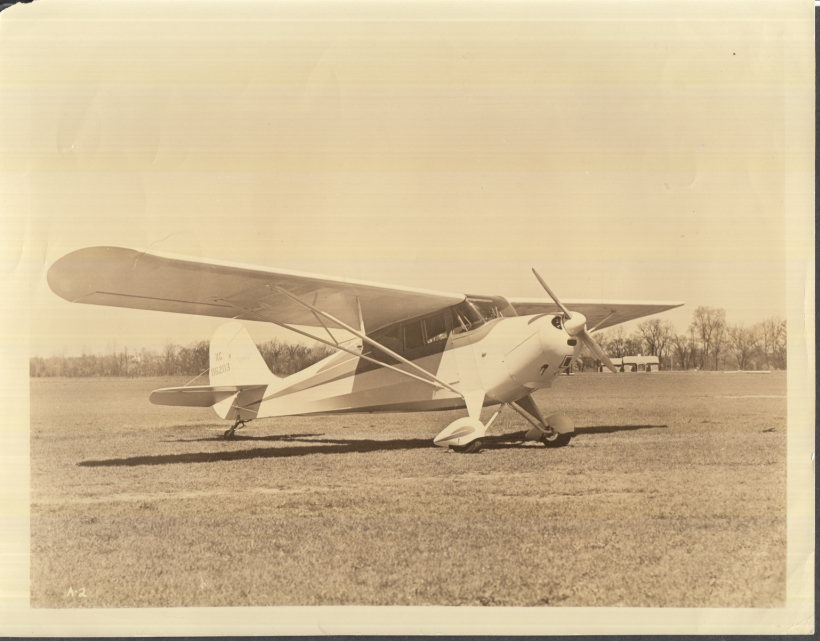 Image for Aeronca 11 Chief monoplane official company photo ca 1950