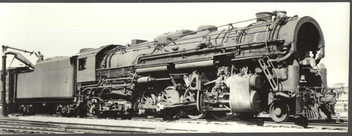 Image for Boston & Maine RR Lima T-1a 2-8-4 locomotive #4007 photo