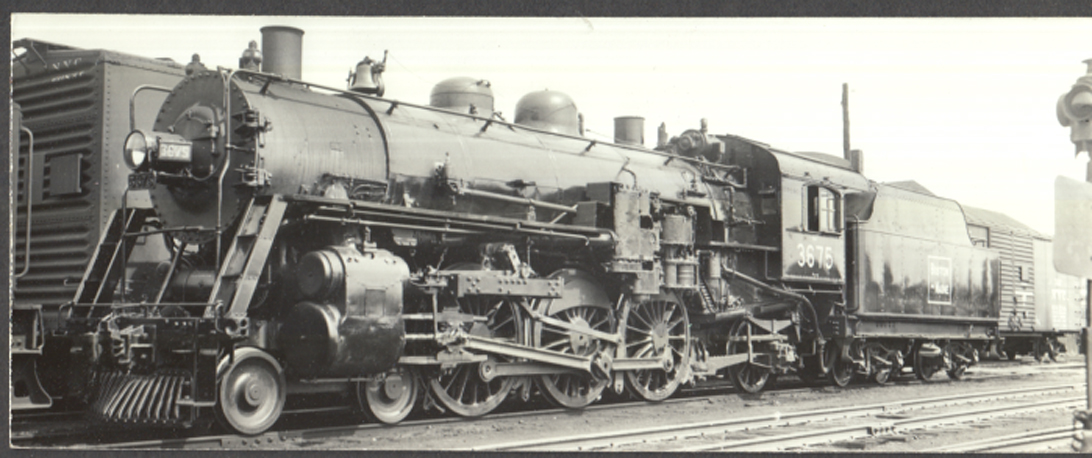 Image for Boston & Maine RR Pacific P-1-a 4-6-2 #3675 photo