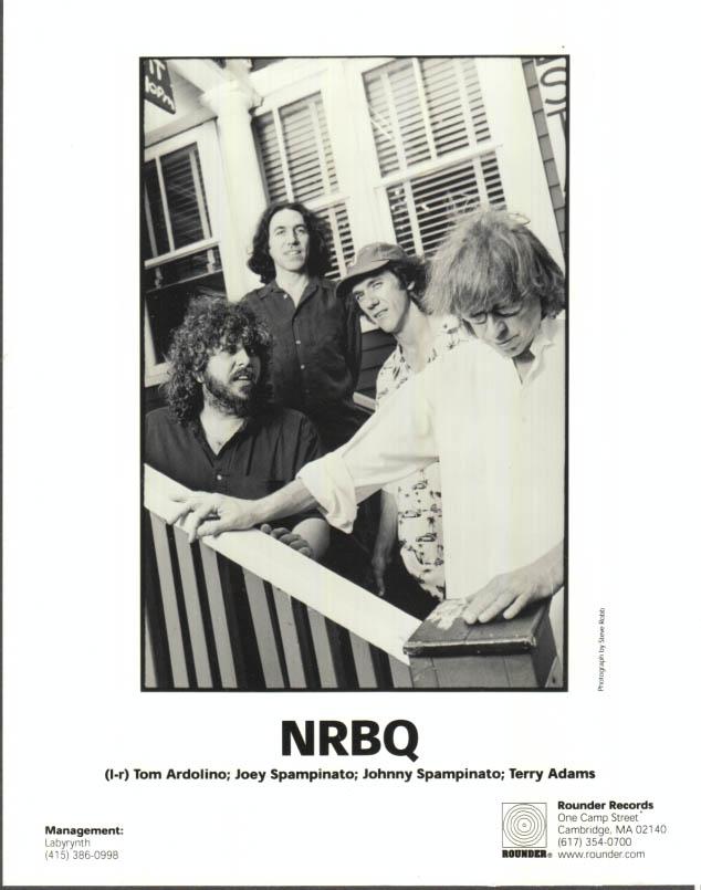 Image for Rock Group NRBQ promo photo Tom Ardolino Joey Spampinato & Terry Adams