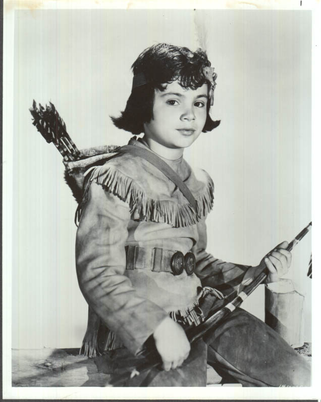 Image for Red Ryder sidekick Little Beaver played by Robert Blake publicity photo 1940s