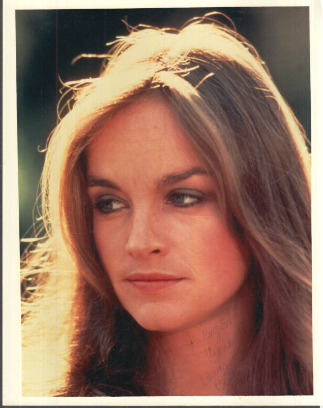 Image for SIGNED Actress Pamela Sue Martin color photo ca 1970s