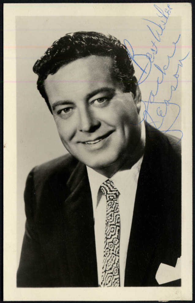 Image for TV Star Jackie Gleason photo SIGNED by an assistant