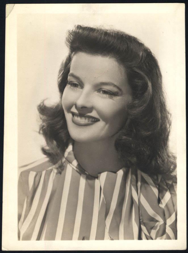 Image for Actress Katharine Hepburn Studio still photo ca 1940s