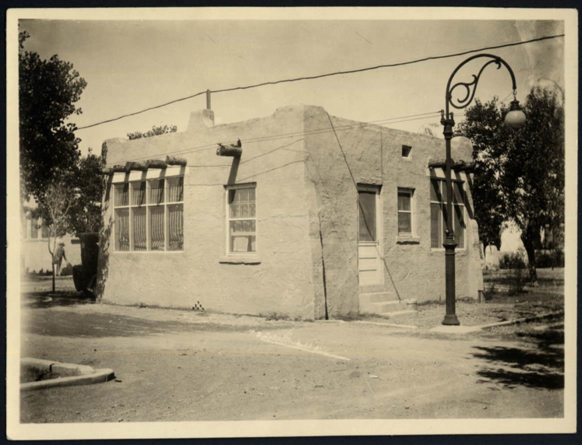 Image for Tourist Camp Cabin at Camp Grande El Paso Gateway Club TX photo ca 1923 #1