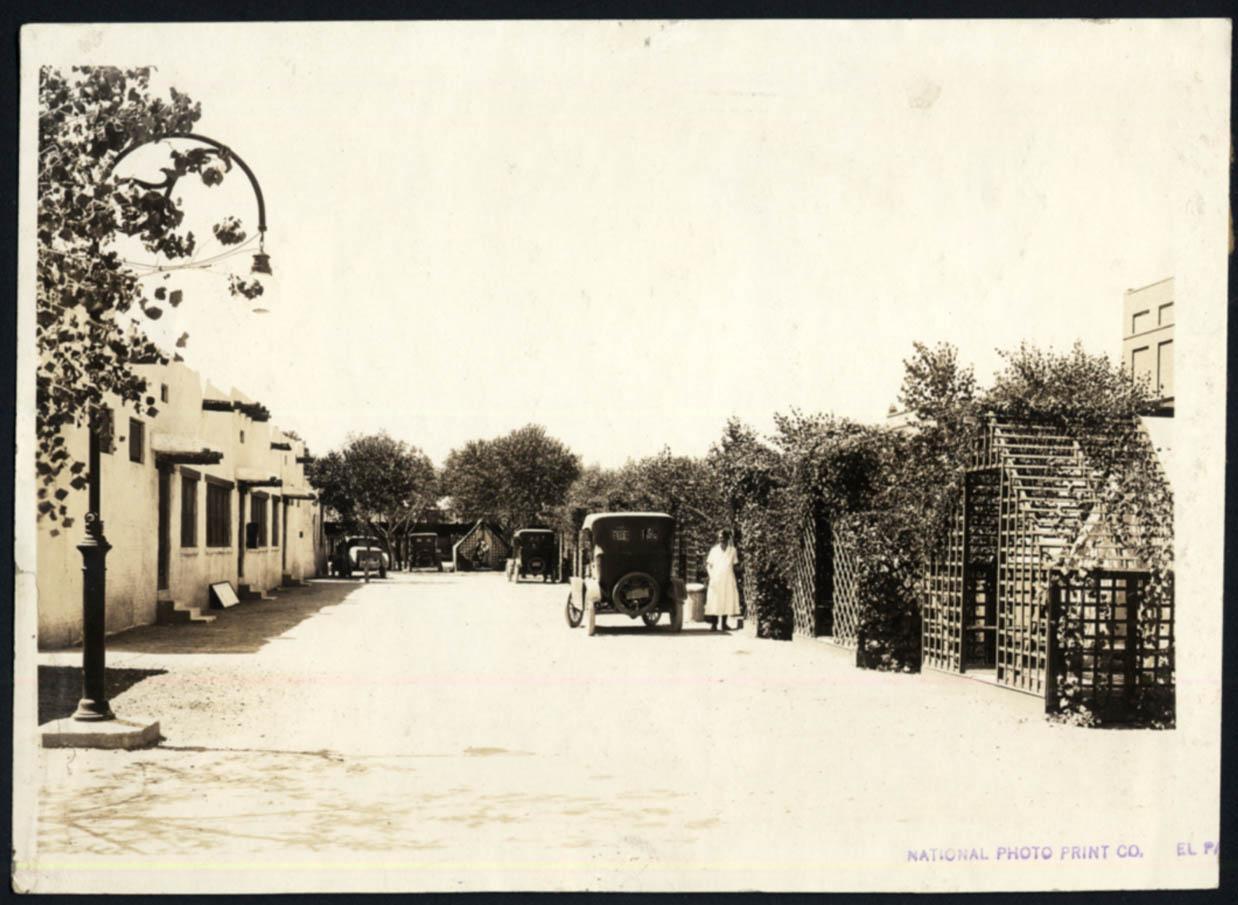 Image for Tourist Camp Cabins at Camp Grande El Paso Gateway Club TX photo ca 1923