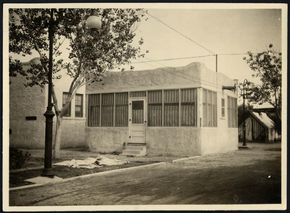 Image for Tourist Camp Cabin at Camp Grande El Paso Gateway Club TX photo ca 1923 #2