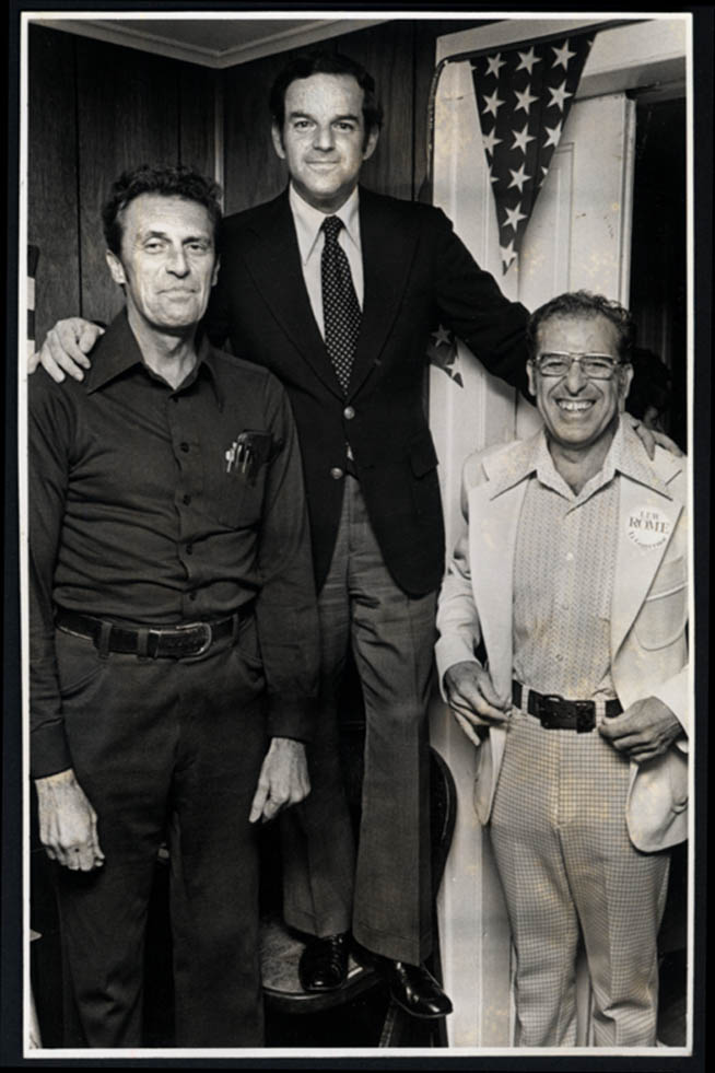 Image for Stretch Norton, Lew Rome & Joe Pugliese news photo ca 1980