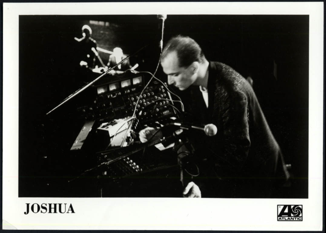Image for Electronic musician Joshua - Atlantic Records promo photo 1980s
