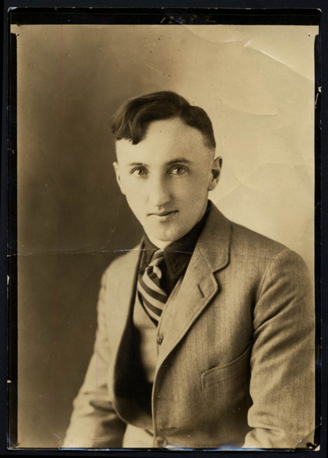 Image for Clifford McGuigan photo by Walker Studios Norwalk CT ca 1915
