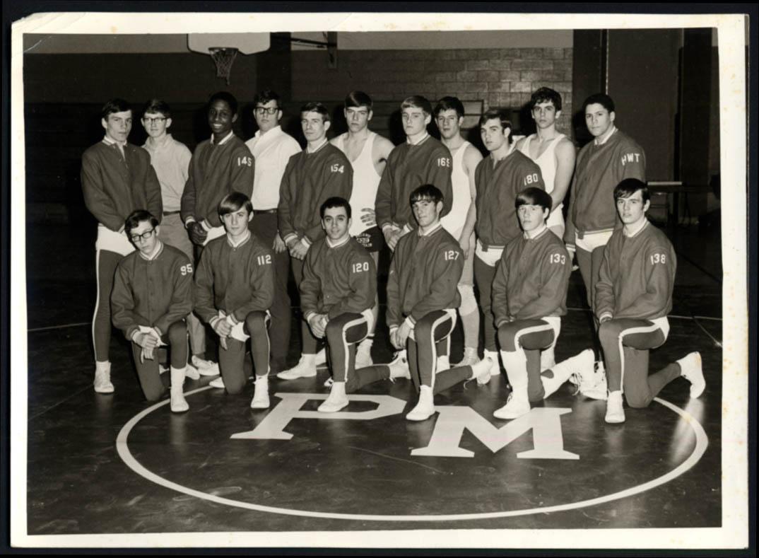 Image for Pocono Mountain High School Basketball Team photo ca 1970s