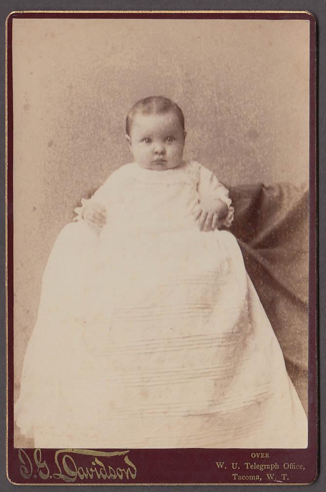 Image for Grace Barbara Sullivan cabinet by J G Davidson Tacoma WA Territory 1880s