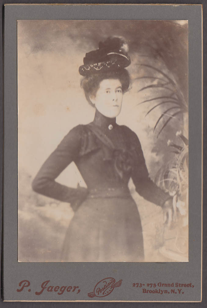 Image for Mrs C J Sullivan fancy hat cabinet by P Jaeger Brooklyn NY 1880s