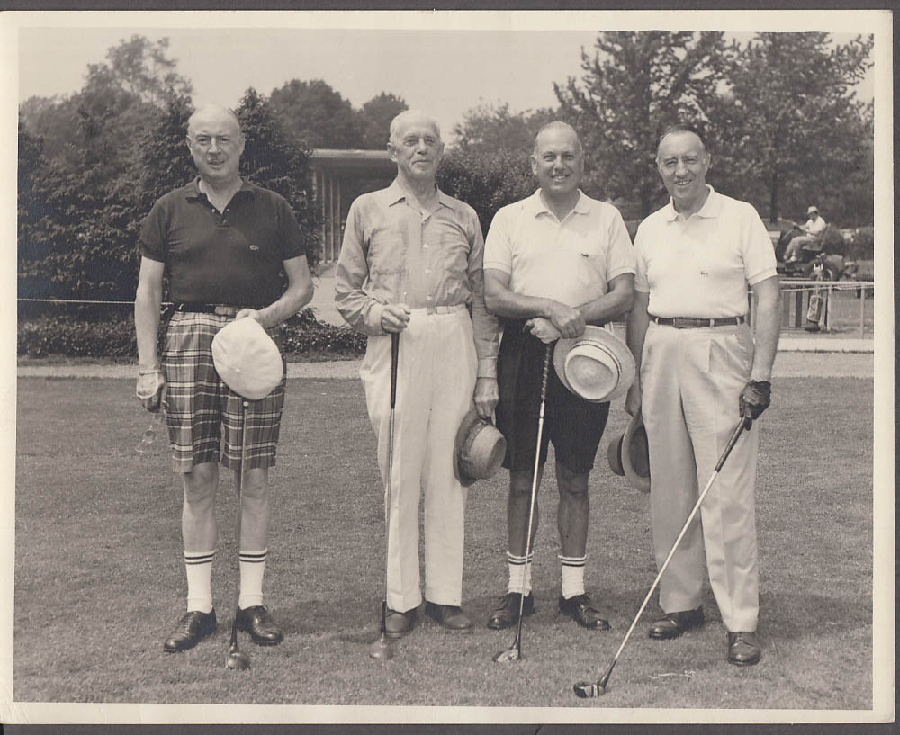 1960 Eastern Seniors Golf Champions Siwanoy Country Club photo Bronxville NY