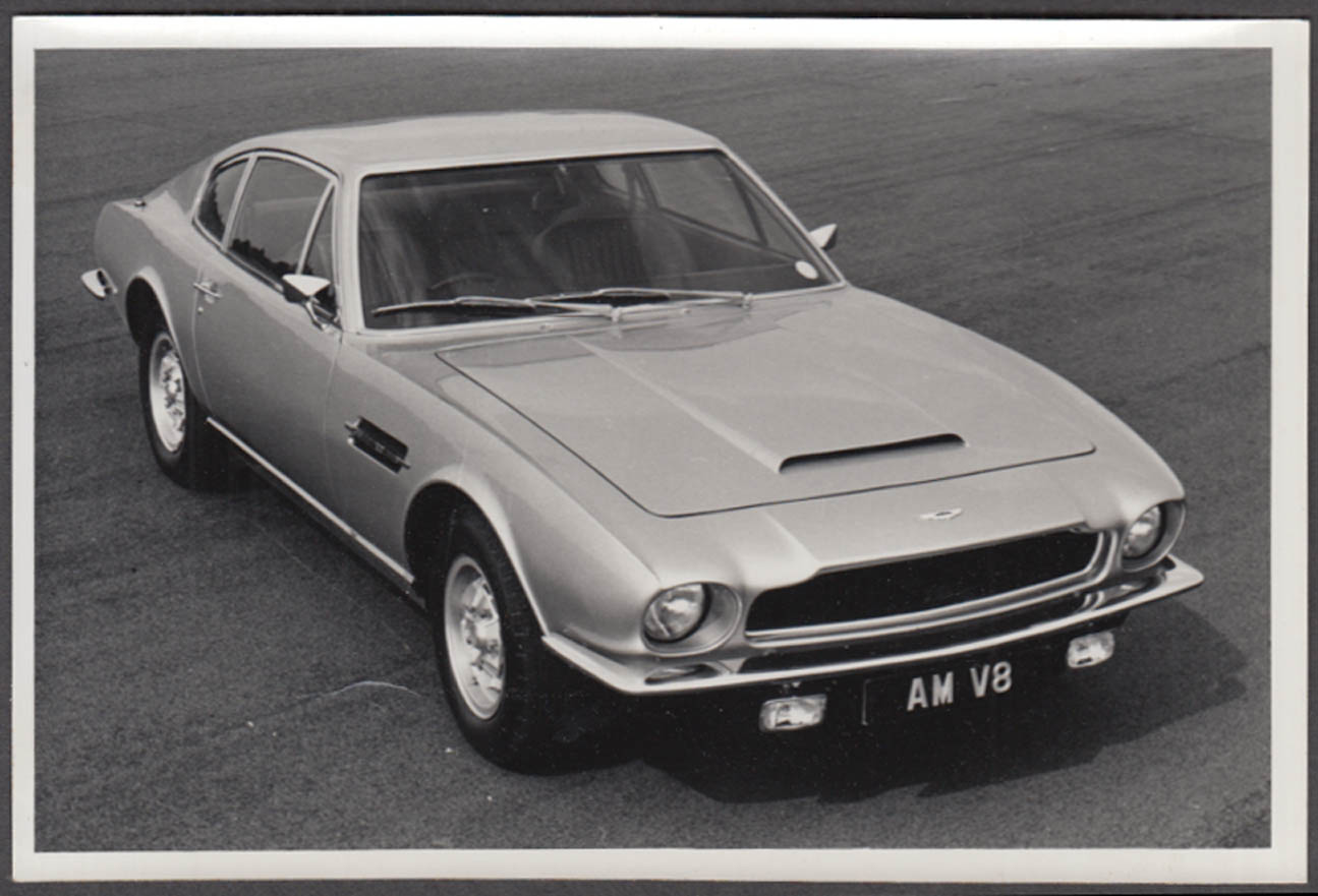 1979 Aston Martin V8 promotional photograph 4 1/4 x 6 3/8""