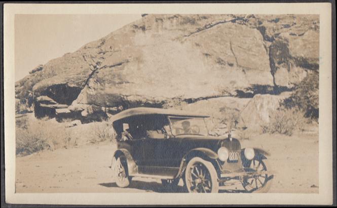 1920s Hudson Touring Car El Paso Texas Plate 8806 snapshot photograph