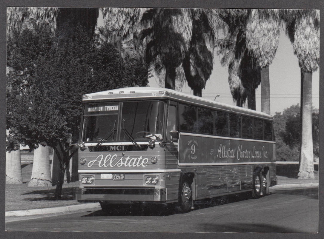 Allstate Charter Lines MCI Motor Coach Bus photo Super Coach #9