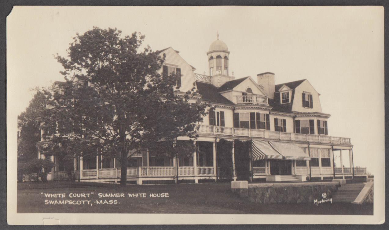 Calvin Coolidge Summer White House White Court Swampscott MA photo 1925