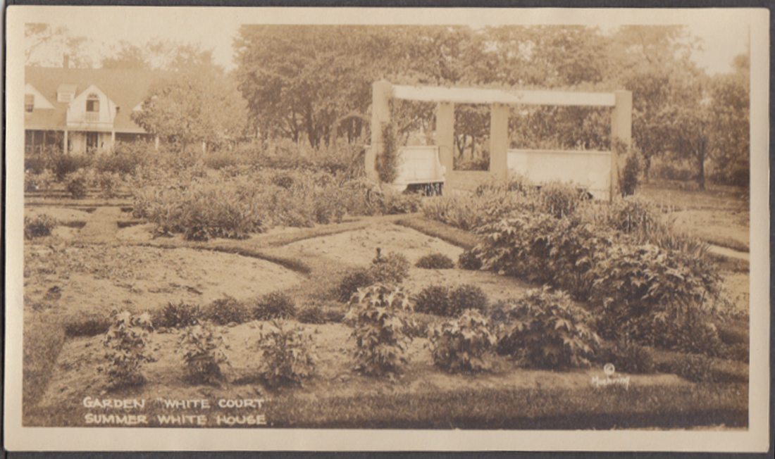 The Gardens at Calvin Coolidge White Court Swampscott MA photo 1925