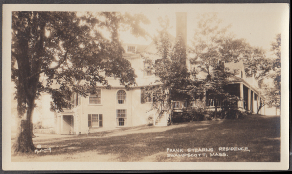 Frank Stearns Home White Court Swampscott MA photo 1925 Calvin Coolidge