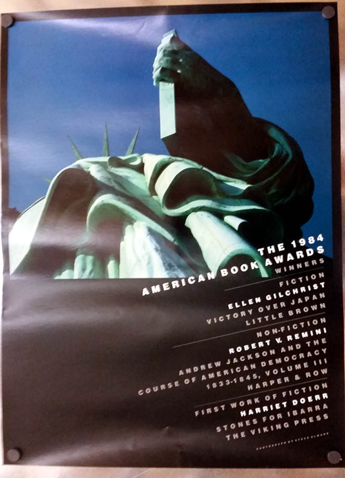 1994 American Book Awards Winners poster Gilchrist Remini Doerr