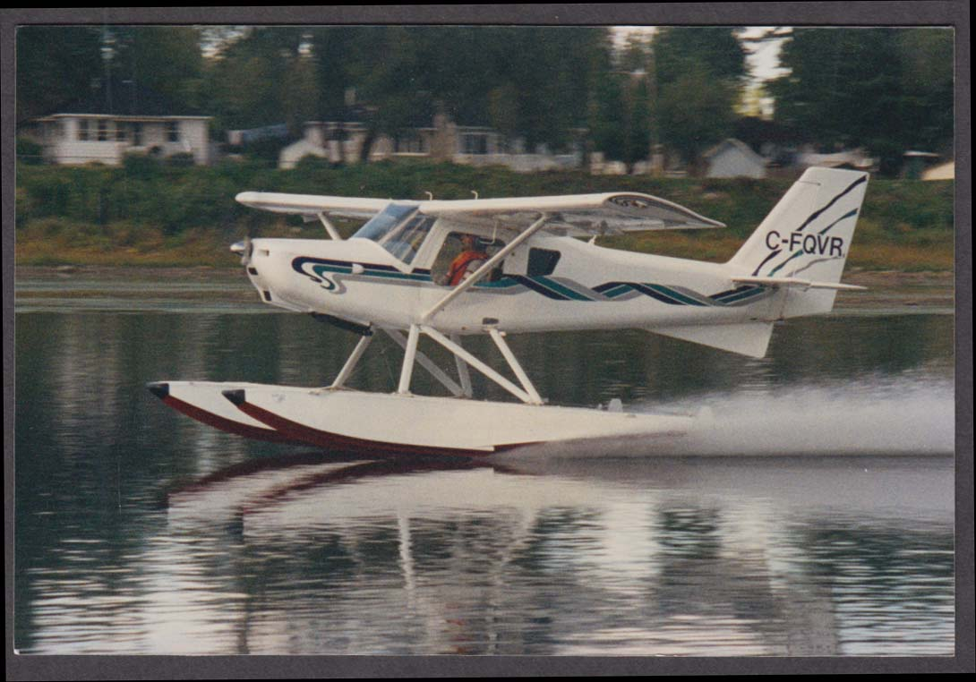 1993 Ultravia Club PL Seaplane C-FQVR color photo