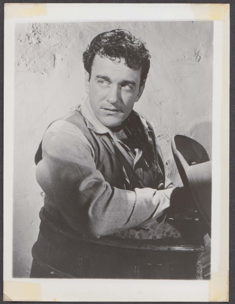 James Arness as Matt Dillon in Gunsmoke fan club snapshot 1950s