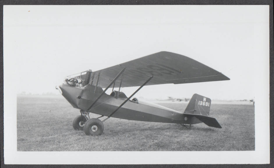 1933 Pietenpol Russert Air Camper monoplane N13691 photo