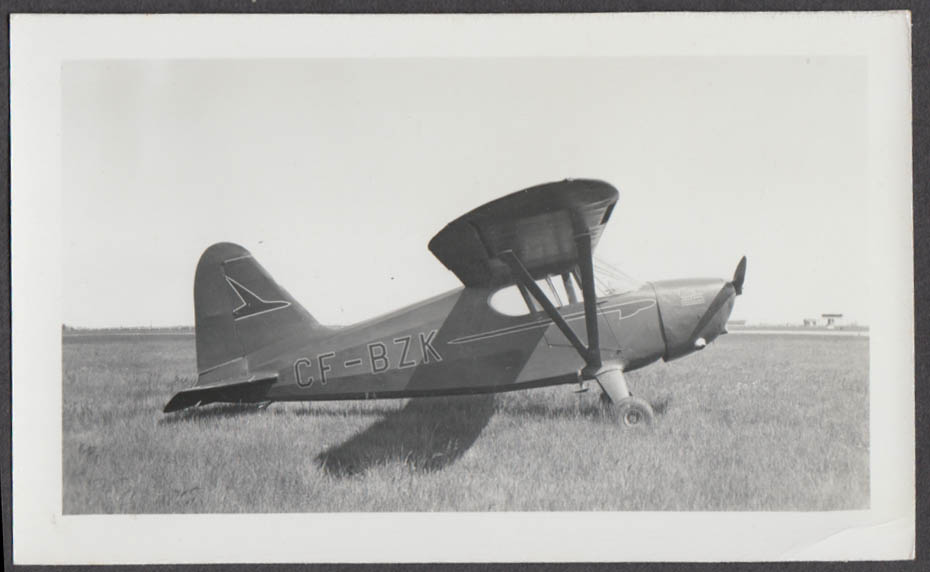 Stinson Voyager 108-3 CF-BZK photo