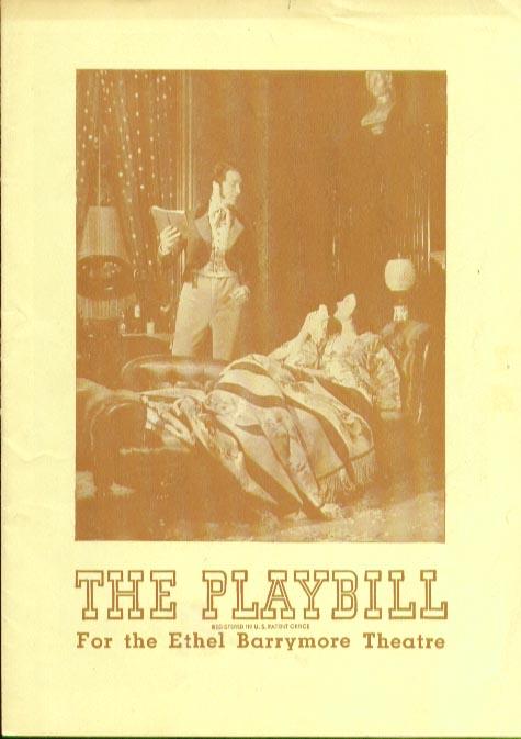 Image for Barretts of Wimpole Street Playbill 4/8/45 Jo Mielziner