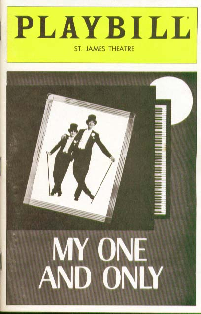 Gershwin My One and Only Playbill 8/83 Nana Visitor DS9