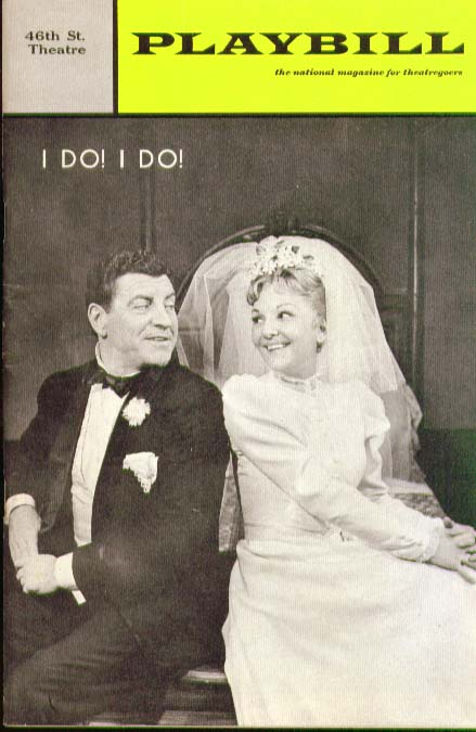 I Do! I Do! Playbill 3/67 Mary Martin Robert Preston