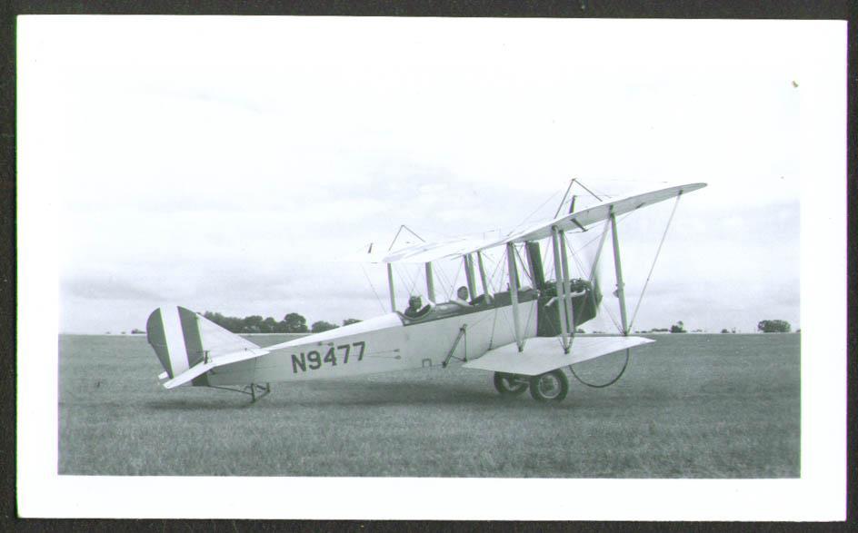1917 Klessig Standard J-1 N9477 photo 1940s