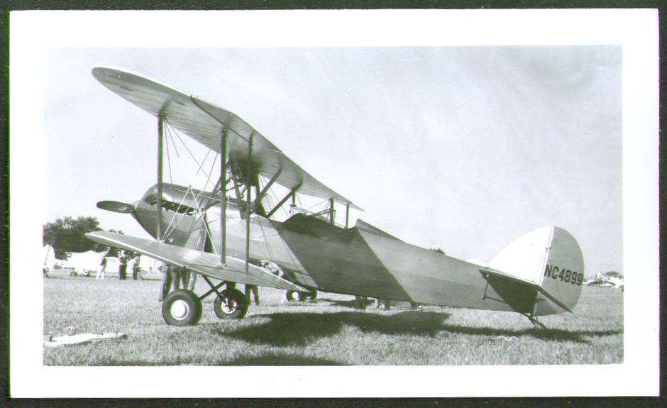 Waco GXE NC4899 Biplane photo 1940s