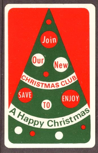 Chelsea Savings Xmas Club pocket calendar 1974 Norwich