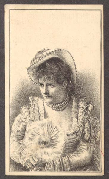 Image for Bunkerhill Carpet Cleansing Boston MA trade card woman