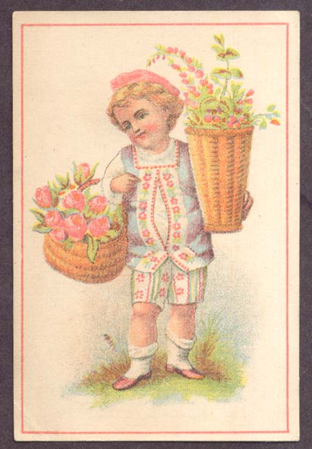Image for Garson's 1-Price Clothiers Cleveland OH boy trade card