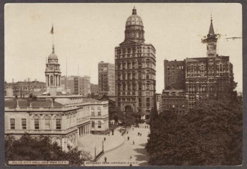 Image for New York City Hall Hood's Sarsaparilla trade card #13